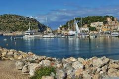 Hiszpania Majorca Port De Soller zdjęcie royalty free