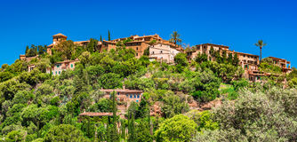 Hiszpania Majorca wioska Deia Fotografia Royalty Free