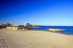 Hiszpania, morze śródziemnomorskie Zdjęcia Royalty Free
