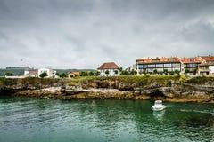 Hiszpania nadmorski wioska fotografia royalty free