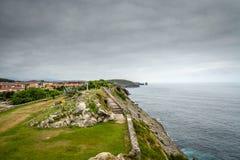 Hiszpania nadmorski wioska zdjęcia royalty free