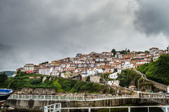 Hiszpania nadmorski wioska obraz royalty free