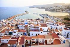 Hiszpania Peniscola zdjęcie royalty free