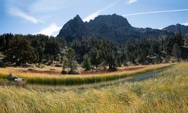 Hiszpania Pyrenees obrazy royalty free