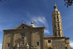 Hiszpania.  Saragossa. Fotografia Stock