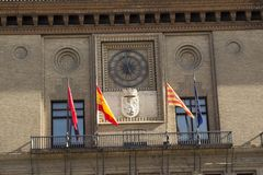 Hiszpania.  Saragossa. Obrazy Royalty Free