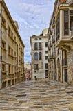 Hiszpania, Tarragona ulica Fotografia Stock