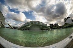 (Hiszpania) Walencja, miasto sztuki i nauki, obraz stock