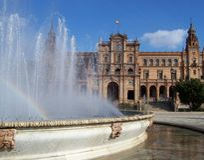 Hiszpanii andaluzji Zdjęcia Stock
