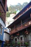 Hiszpanii Cudillero asturii Zdjęcia Royalty Free