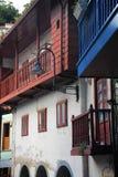 Hiszpanii Cudillero asturii Zdjęcie Stock