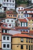 Hiszpanii Cudillero asturii Fotografia Royalty Free