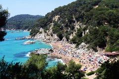 Hiszpanii na plaży obraz stock