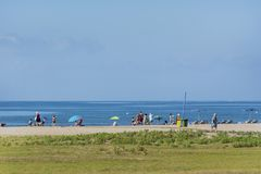 Hiszpanii na plaży Fotografia Stock