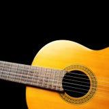 Hiszpańska gitara Zdjęcia Stock