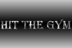 Hit the gym Royalty Free Stock Photography