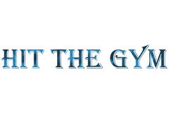 Hit the gym Royalty Free Stock Photos
