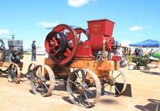 Antique American flywheel engine: Van Duzen Rois (1913) Stock Images