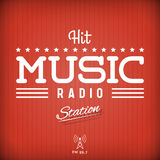 Hit Music Radio Royalty Free Stock Photo