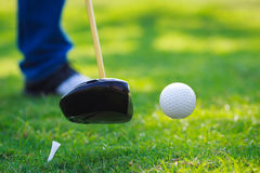 Hit off the tee royalty free stock photos