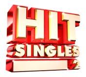 Hit Singles volume 2- 3d logo Stock Images