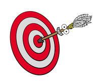 Hit the target Royalty Free Stock Photo