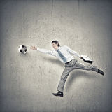 Hit your goal Royalty Free Stock Image