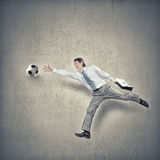 Hit your goal Royalty Free Stock Images