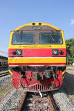 Hitachi  diesel locomotive Royalty Free Stock Images