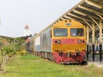 Hitachi Dieslowska lokomotywa ŻADNY 4519 Zdjęcia Royalty Free
