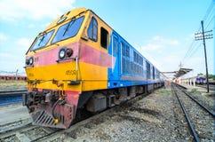 HITACHI locomotive. Royalty Free Stock Image
