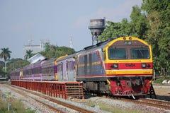 Hitachi no.4519 for train no.2 Stock Images