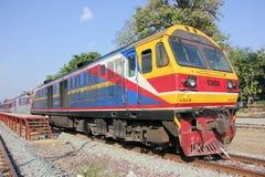 Hitachi no.4519 for train no.2 Royalty Free Stock Photo