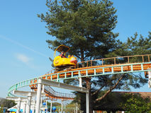Hitachi Seaside Park - kiddie rides Royalty Free Stock Photo