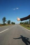 Hitchhike 05 Stockfoto