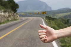Hitchhike Stock Photography