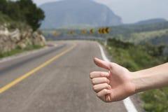 Hitchhike Fotografia de Stock