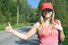 Hitchhiker Stock Photos