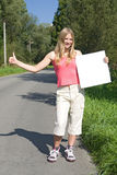 Hitchhiker Royalty Free Stock Photos