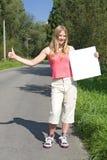 Hitchhiker Royalty Free Stock Photos