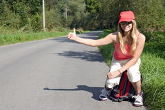 Hitchhiker Stock Images
