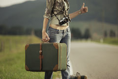 Hitchhiker Stock Image