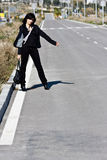 Hitchhiker Fotos de Stock
