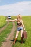 Hitchhiker Stock Photography