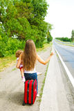 Hitchhikers Royalty Free Stock Photography