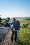Hitchhikers Royalty Free Stock Photo