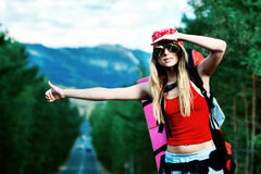Free Hitchhiking Stock Photography - 15416602