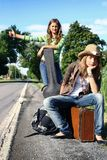Hitchhiking zdjęcia stock