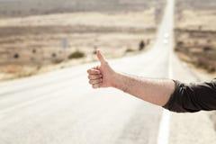 Hitchhiking Stock Photos