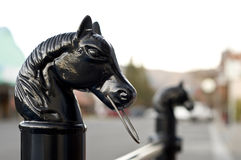 Hitching post Royalty Free Stock Photos